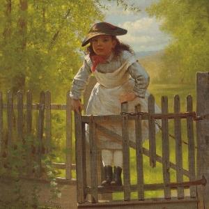 The Tom Boy by John George Brown